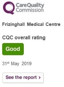 CQC Rating - 31st May 2019